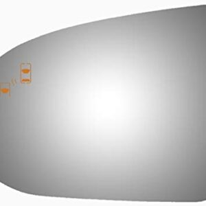 Fits Rear View Driver Side Mirror Glass for 2017-2020 Kia Niro 2019-2020 Kia Niro EV 2017 2018 2019 2020 Left Flat Lens…