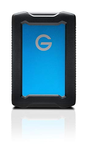 G-Technology 1TB ArmorATD All-Terrain Rugged Portable External Hard Drive – USB-C, USB 3.1 Gen 1 – 0G10433-1