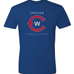 36 and Oh! Chicago C Baseball T Shirt Mens Vintage Distressed – Soft Style