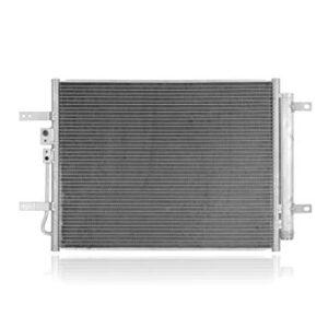 A/C Condenser – Pacific Best Inc. Fit/For 30102 17-20 Hyundai Ioniq-Hybrid, 17-20 Kia Niro – With Receiver & Dryer