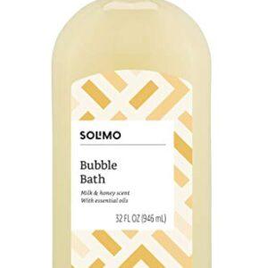 Amazon Brand – Solimo Lavender Bubble Bath, 32 Fluid Ounce
