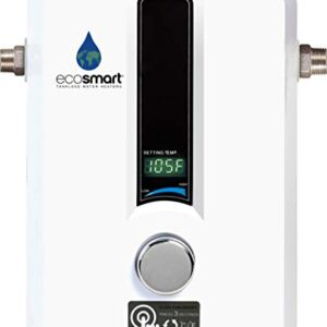 EcoSmart ECO 11 Electric Tankless Water Heater, 13KW at 240 Volts with Patented Self Modulating Technology