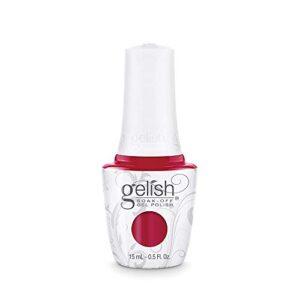 Gelish Hot Rod Red Soak-Off Gel Polish, 0.5 oz.