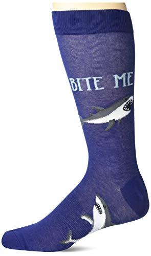 K. Bell Socks mens The Great Outdoors Novelty Crew Socks