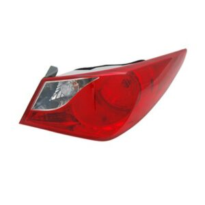 New Right Passenger Side Outer Tail Light Assembly For 2011-2014 Hyundai Sonata Except Hybrid Model HY2805116