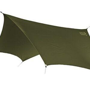 ENO, Eagles Nest Outfitters DryFly Rain Tarp, Ultralight Hammock Accessory, Olive