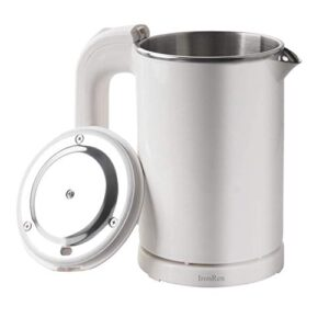 IronRen 0.5L Portable Electric Kettle, Mini Travel Kettle, Stainless Steel Water Kettle – Perfect For Traveling Cooking…