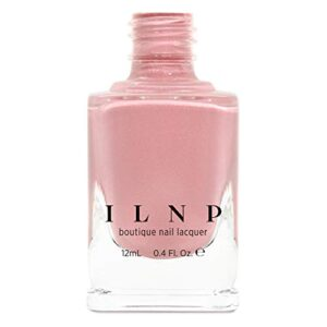 ILNP Full Bloom – Creamy Peachy Pink Holographic Nail Polish