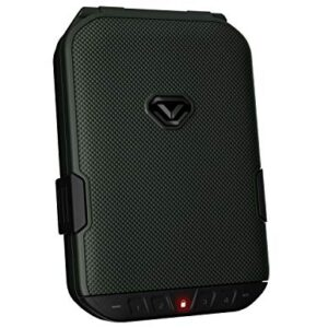 VAULTEK LifePod Secure Waterproof Travel Case Rugged Electronic Lock Box Travel Organizer Portable Handgun Case with…