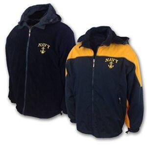 Navy Men's 2 Tone Jacket