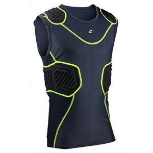 Champro Unisex-Adult Bull Rush Football Compression Shirt