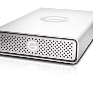 G-Technology 4TB G-DRIVE USB-C (USB 3.1 Gen 1) Desktop External Hard Drive – 0G05666-1
