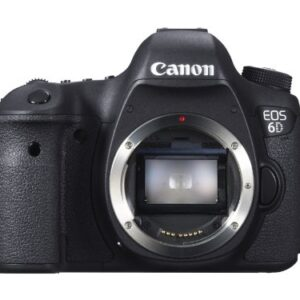 Canon EOS 6D 20.2 MP CMOS Digital SLR Camera with 3.0-Inch LCD (Body Only) – Wi-Fi Enabled