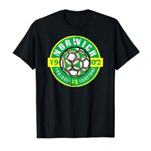 Football Is Everything – City Of Norwich Vintage T-Shirt