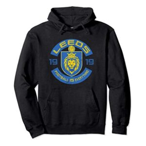 Football Is Everything – Leeds Squad Retro Pullover Hoodie