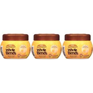 Garnier Hair Care Whole Blends Honey Treasures Repairing Shampoo, Conditioner, and Cream Hair Masks, For Damaged Hair 1…