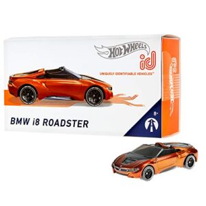 Hot Wheels id BMW i8 Roadster {Moving Forward}, Embedded NFC Chip Uniquely Identifiable 164 Scale Ages 8 and Older