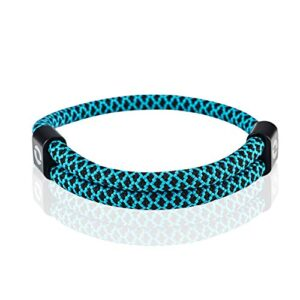 Adjustable Mens Bracelet Made of Durable Waterproof Rope | Stylish Accessory for Men | 10 Colors | Fits Any Wrist Size