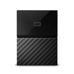 WD 2TB My Passport Game Storage Works with PS4 – USB 3.0 – WDBZGE0020BBK-NESN
