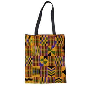 FOR U DESIGNS Women Canvas Reusable Tote Bag Women Shopping Tote Bags Book Bags