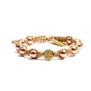 My Saint My Hero Divine Blessings Pearl Bracelet