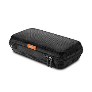 GLCON Portable Protection Hard EVA Case for External Battery,Cell Phone,GPS,Hard Drive,USB/Charging Cable,Carrying Bag…