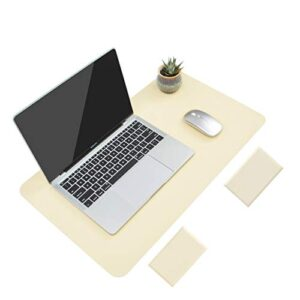 Non-Slip Desk Pad,Mouse Pad,Waterproof PVC Leather Desk Table Protector,Ultra Thin Large Desk Blotter, Easy Clean Laptop…