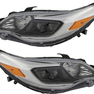 For Toyota Avalon/Hybrid Headlight 2013 2014 2015 Driver and Passenger Side Headlamp Assembly Replacement