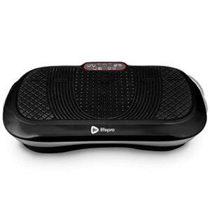 LifePro Waver Vibration Plate Exercise Machine – Whole Body Workout Vibration Fitness Platform w/Loop Bands – Home…