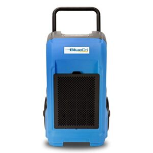 BlueDri BD-76 — 76 AHAM/150 Saturation PPD Industrial Commercial Grade Water Damage Equipment Large Dehumidifier for…