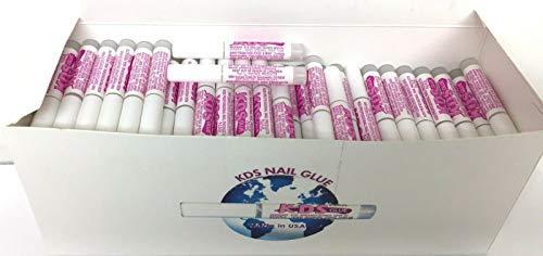 100 pcs KDS Nail Tip Glue – Adhesive Super Bond For Acrylic Nails Tips