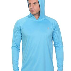 Fishing Shirts for Men Long Sleeve – Sun Protection SPF 50+ UV Tshirt Hoodies