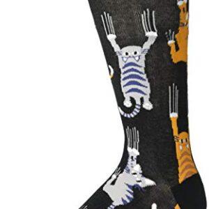 K. Bell Socks mens Casual Animal Novelty Crew Socks