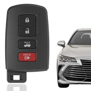 KRSCT 4-Buttons Keyless Entry Remote Key Fob Entry Replacement Fits for Toyota Avalon 2013-2020, Camry 2012-2017…