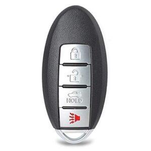 Keyecu Smart Proximity Remote Key 4 Button Fob for Nissan Sentra Versa Leaf 2013 2014 2015 2016 2017 2018 FCC…