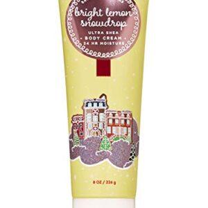 Bath and Body Works Bright Lemon Snowdrop Cream 2019
