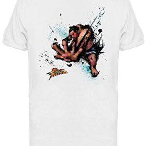 Capcom Men's Street Fighter E Honda T-shirt