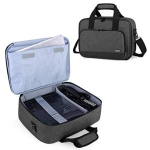 Luxja Projector Case, Projector Bag with Protective Laptop Sleeve, Projector Carrying Case with Accessories Pockets…