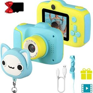 Etpark Kids Selfie Camera, Children Digital Camera Toys with 28 Funny Filters, 1080P HD Video Recorder, Supports Small…