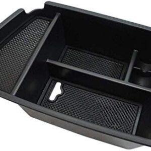 Salusy Center Console Organizer Storage Box Accessories Compatible for Kia NIRO SUV 2017 2018 2019