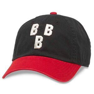 AMERICAN NEEDLE Ballpark Vintage National Negro League Baseball Buckle Strap Hat