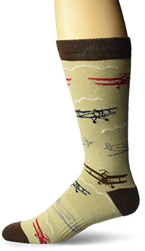 K. Bell Socks Men's Celebrating Americana Crew Socks-Made in USA