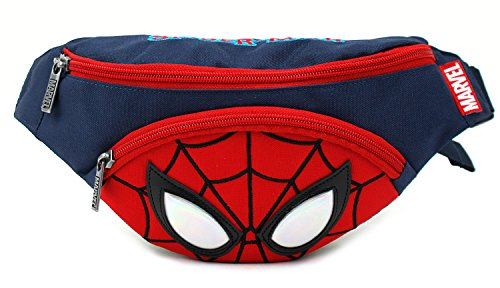 Spider Man Face Small HipSack Waist Pack Fanny Phone Wallet for Kids Teens Adults