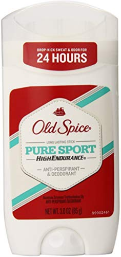 Old Spice High Endurance Anti-Perspirant & Deodorant, Pure Sport 3 oz (Pack of 8)