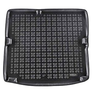 Rezaw-Plast Cargo Mat for Hyundai Ioniq Hybrid Only 2016-2021 All Weather Rear Rubber Trunk Cover Tray Black