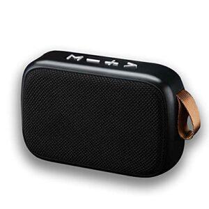 Tek Styz Speaker Works for Mercedes EQC Fabric Design 3W Playtime 6H Indoor, Outdoor Travel (Black)