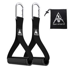 Oak-Sports Heavy Duty Exercise Handles for Cables Machine Attachments(Set of 2),Upgrade Resistance Band Handle…
