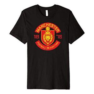 Football Is Everything – Manchester Squad Retro Premium T-Shirt