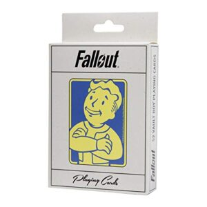 Fallout Playing Cards Deck – Depicting Your Favorite Vault Boy Perks from The Video Game – Full 52 Card Deck