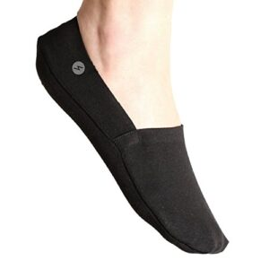 No Show Socks 3 Pairs Low Cut Liner Socks, Non Slip, Invisible for Flats, Boat